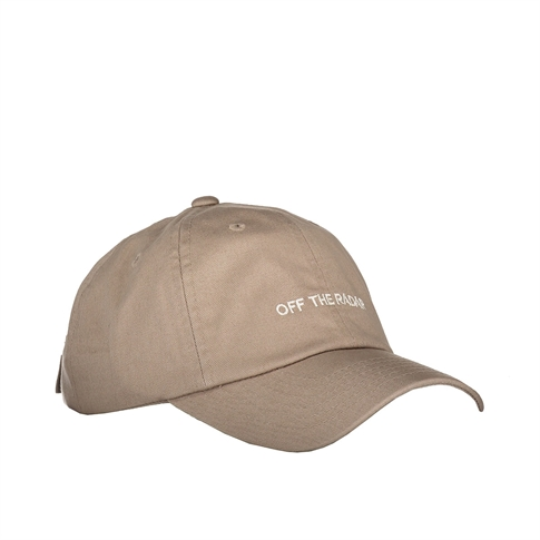 Off the radar Baseball cap - kleur: Khaki