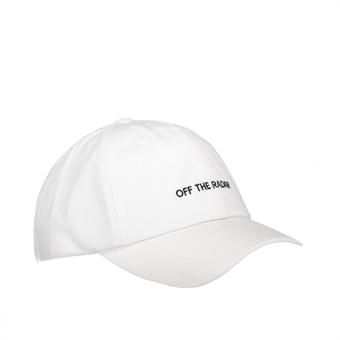 Off the radar Baseball cap - kleur: White