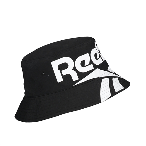 Reebok Vector bucket hat white - kleur: Black