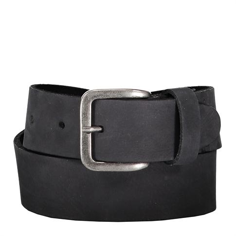 Legend Suede classic belt 4CM - kleur: Black