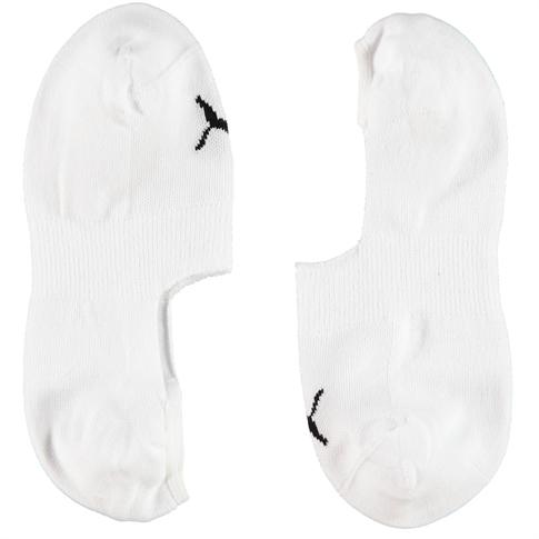 Puma 2 p. unisex sneaker sock - kleur: White