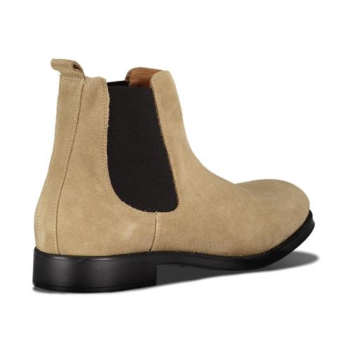 Selected David New Suede Sneaker Beige Sand