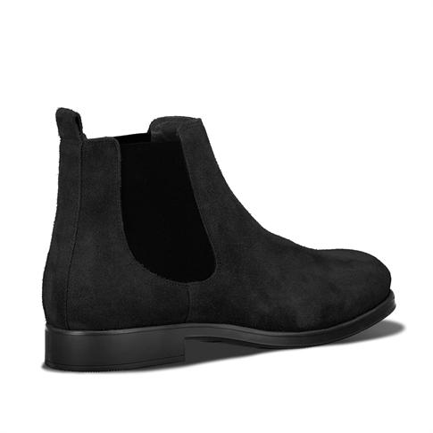 Selected David New Suede Sneaker Black