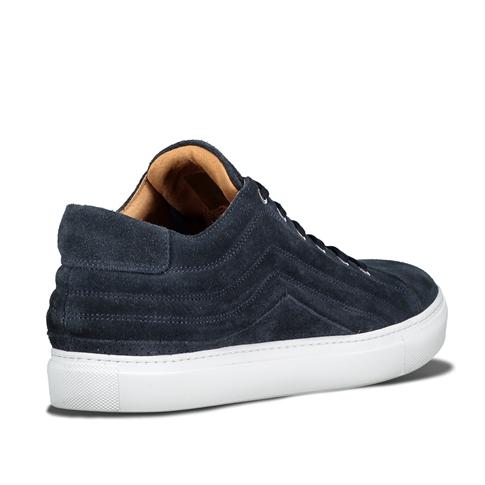 Selected Drake Suede Sneaker Blue Navy