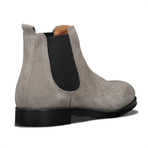 Selected David New Suede Sneaker Grey