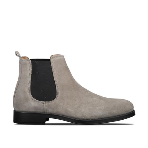 Selected David New Suede Sneaker - kleur: Grey