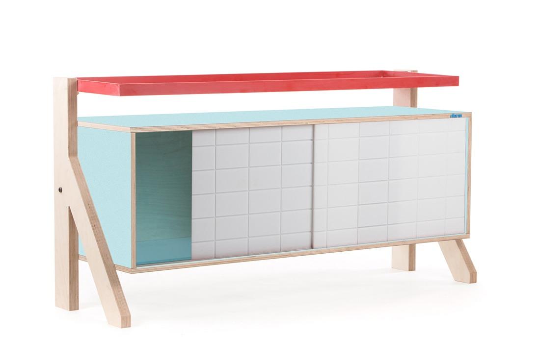 Frame Sideboard 03 - 10 Colours - L115cm - Butterfly Blue - merk: rform