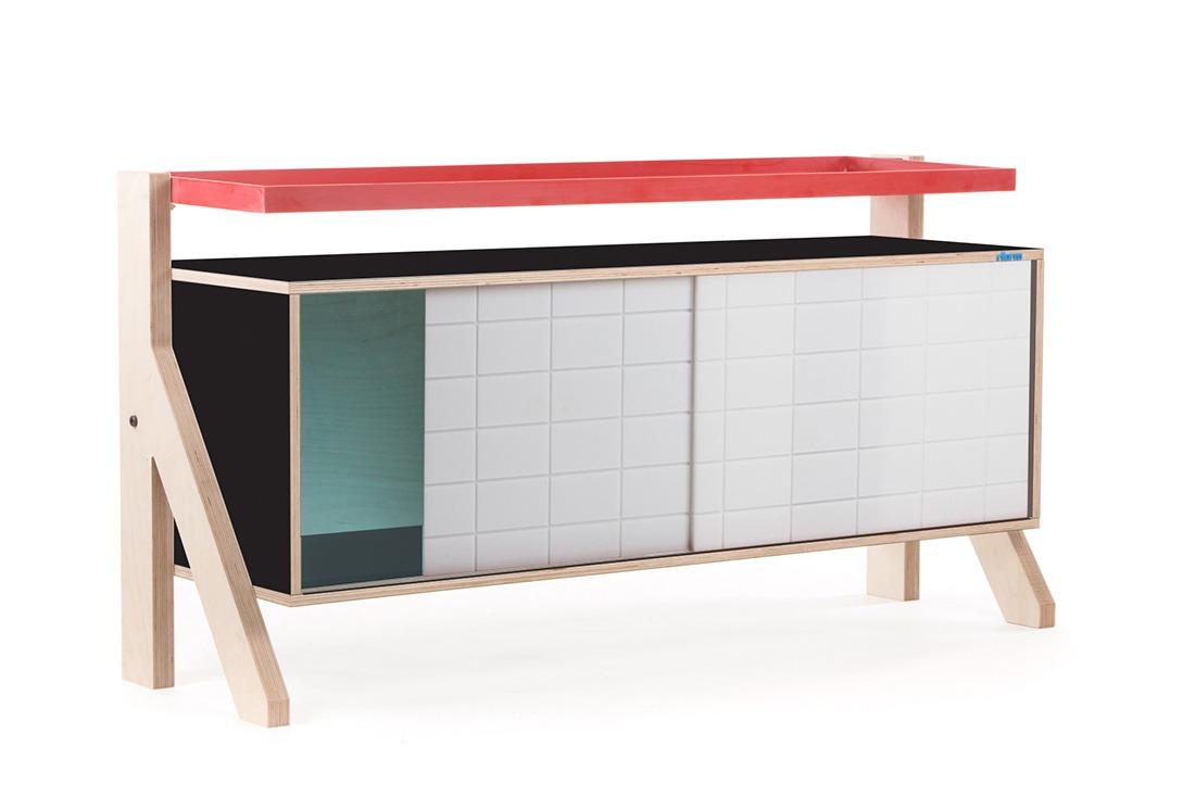Frame Sideboard 03 - 10 Colours - L115cm - Inky Black - merk: rform