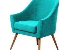 HERMAN ARMCHAIR - TURQUOISE HAWKE & THORN