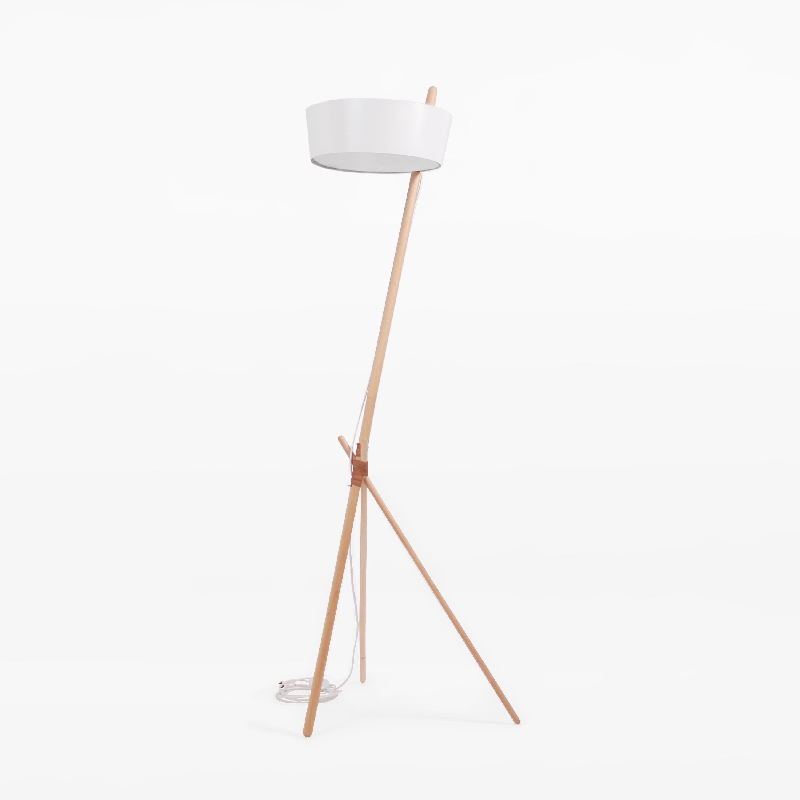 KA Wood Lamp XL - ESSENTIAL WHITE - merk: WOODENDOT