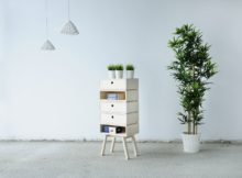 Otura Basic Modular Wooden Cabinets - Otura Basic 5 units Rianne Koens