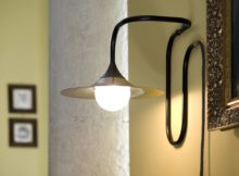 Turbaya Copper Wall Lamp - Black Body Intueri Light